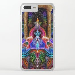 Lyra & the Creancients Clear iPhone Case