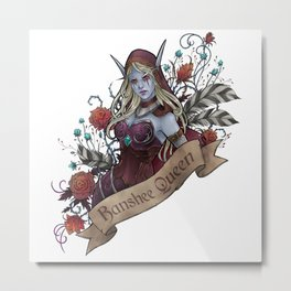 Queen of the Forsaken Metal Print