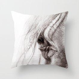 Perlino Eye Throw Pillow