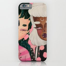 PARTNERS IN CRIME iPhone Case