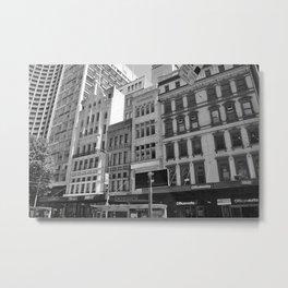Melbourne monochrome xvi Metal Print
