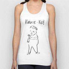 Karate Comic Unisex Tank Top