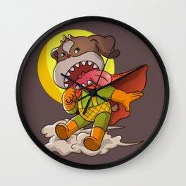 Super Dog No.1 Wall Clock