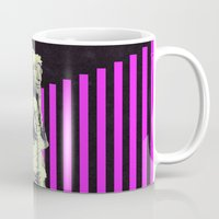 indian Mugs featuring Indian by Robert Cooper