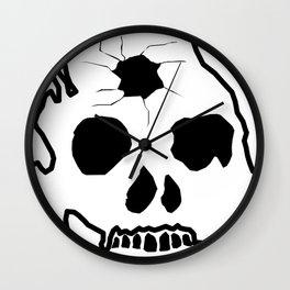 Zombie Skull Wall Clock