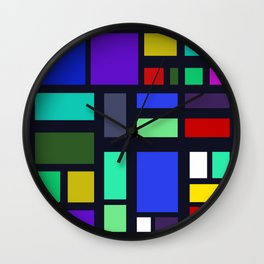 Square Bob Wall Clock