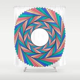Rainbow Sunshine Shower Curtain