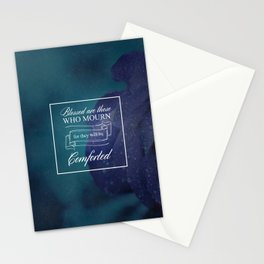 Blessed Are Those Who Mourn - Matthew 5:4 Stationery Cards