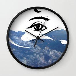 Sky eye Wall Clock