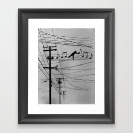 High Notes Framed Art Print