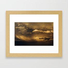 Minnesota Storm Framed Art Print