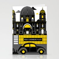 berlin Stationery Cards featuring Berlin by koivo