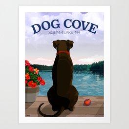 Dog Cove Art Print