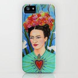elevar my corazon iPhone Case