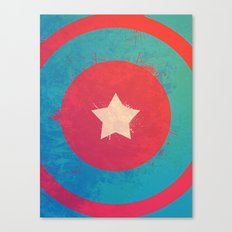 Captain's Sheild! Canvas Print