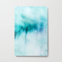 Abstract Waterfall Metal Print