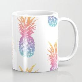 Colorful Pineapple Pattern Coffee Mug