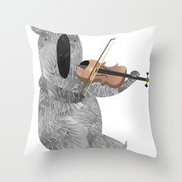 Mr. Stubbs  Throw Pillow