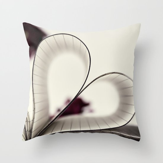 paper  heart ♥ Throw Pillow