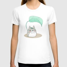 Floral Totoro T-shirt