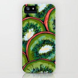 Kiwi Print iPhone Case