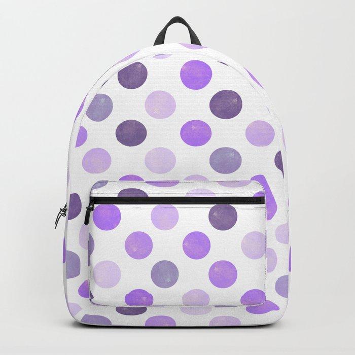 Watercolor Dots Pattern III Backpack