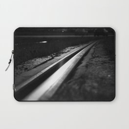 Abstract view on the railroad Laptop Sleeve