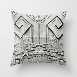 Deco-Rative Fish Throw Pillow