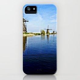 Windmills Holland iPhone Case