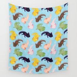 Axolotl Pattern Wall Tapestry