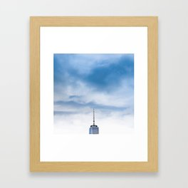 Top of New York Framed Art Print
