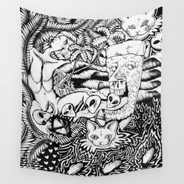 Birthing of the Ancients Wall Tapestry