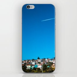 At The Sky iPhone Skin