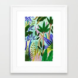 Jungle Vibes Framed Art Print