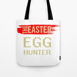 The Easter Egg Hunter Tote Bag