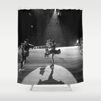 wonderland Shower Curtains featuring WONDERLAND by GL-ART-PHOTOGRAPHY