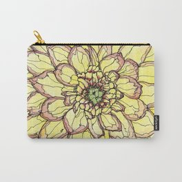 Yellow Flower Love Carry-All Pouch