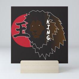 KING Mini Art Print