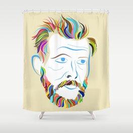 Bon Iver Shower Curtain