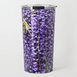 A Shower Of Purple Wisteria Travel Mug