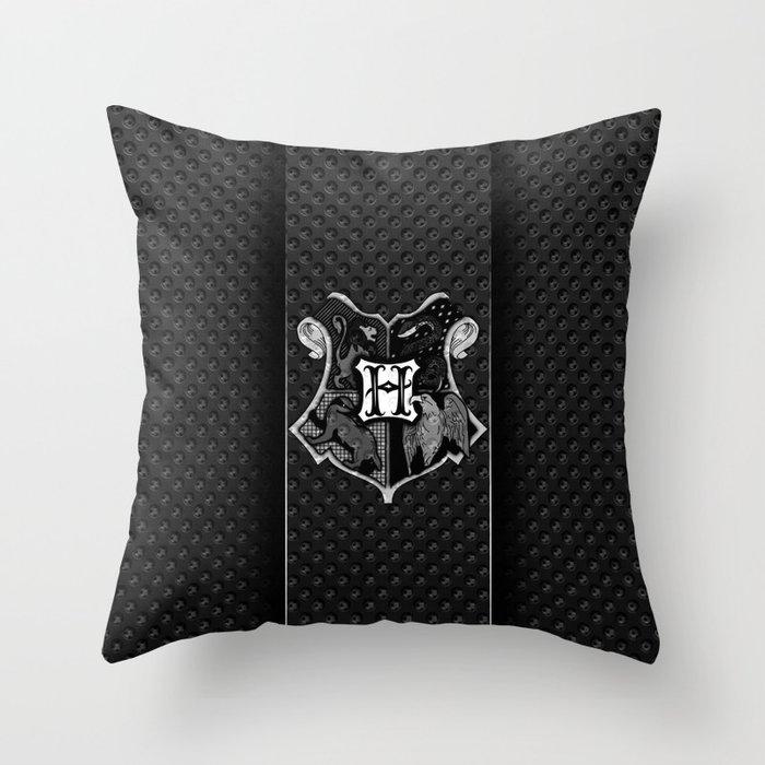 hogwarts metal Throw Pillow
