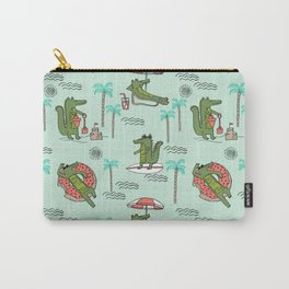 Alligator vacation tropical gator life palm beach socal florida gators Carry-All Pouch