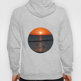 Holy sunset on the Baltic Sea Hoody