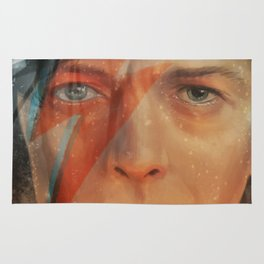 Bowie - The Man Who Fell to Earth Rug