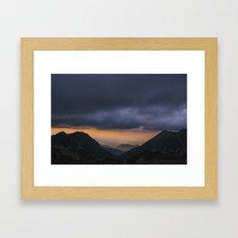 Sunset is my favorite color Framed Art Print