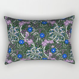 "William Morris ""Seaweed"" 4. Rectangular Pillow"