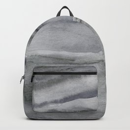 Watercolor Agate in Gray Backpack