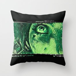 Down From Above: Hearts of Venom Throw Pillow