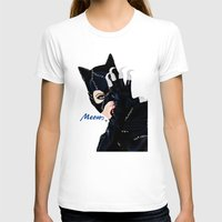 returns T-shirts featuring Catwoman Returns  by LARiozzi
