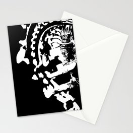 nataraja king of the cosmic dance Stationery Cards